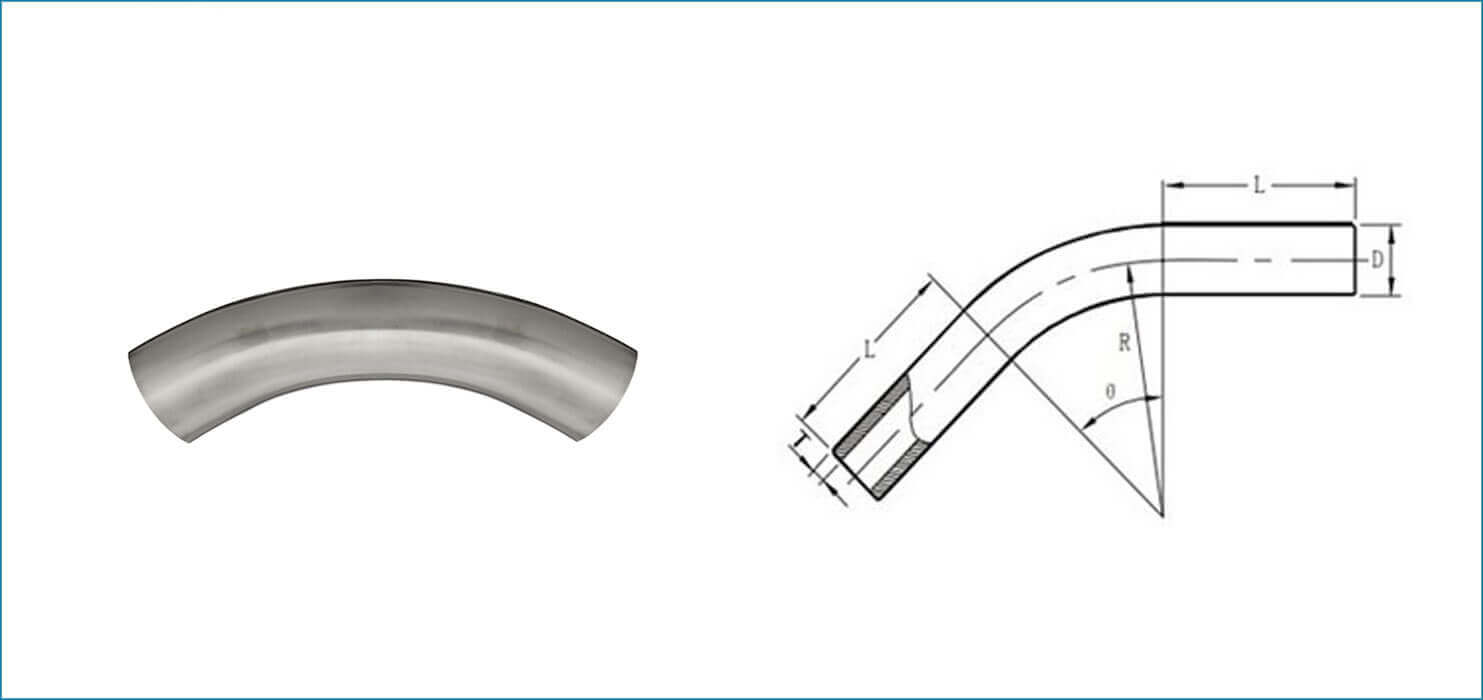 ASME B16.9 10D Pipe Bend
