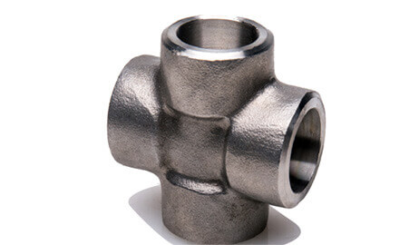 ASTM A182 Alloy Steel F5 Forged Socket Weld Cross