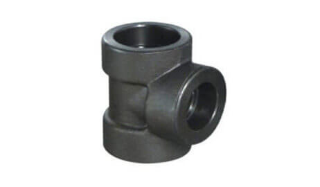 ASTM A182 Alloy Steel F5 Forged Socket Weld Tee