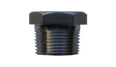 ASTM A182 Alloy Steel F22 Threaded / Screwed Hex Plug