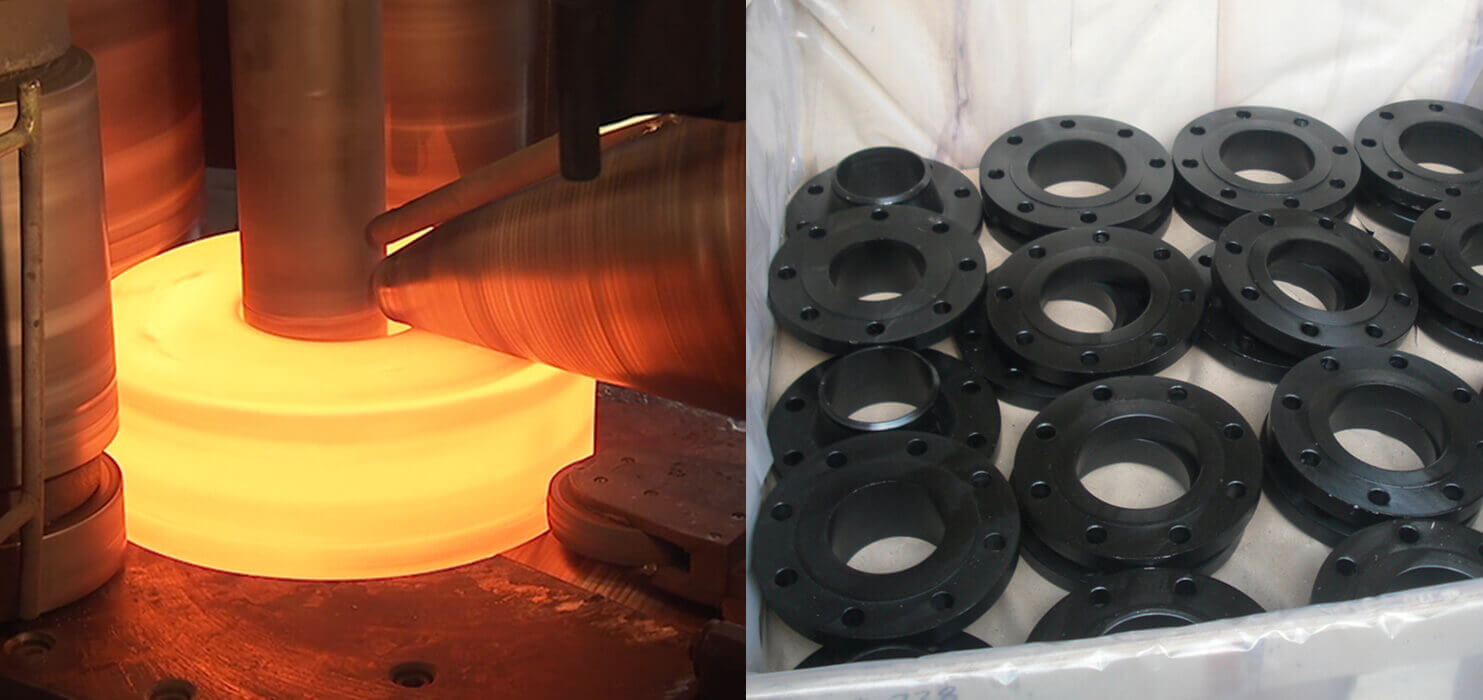 Carbon Steel ASTM A105 Flanges