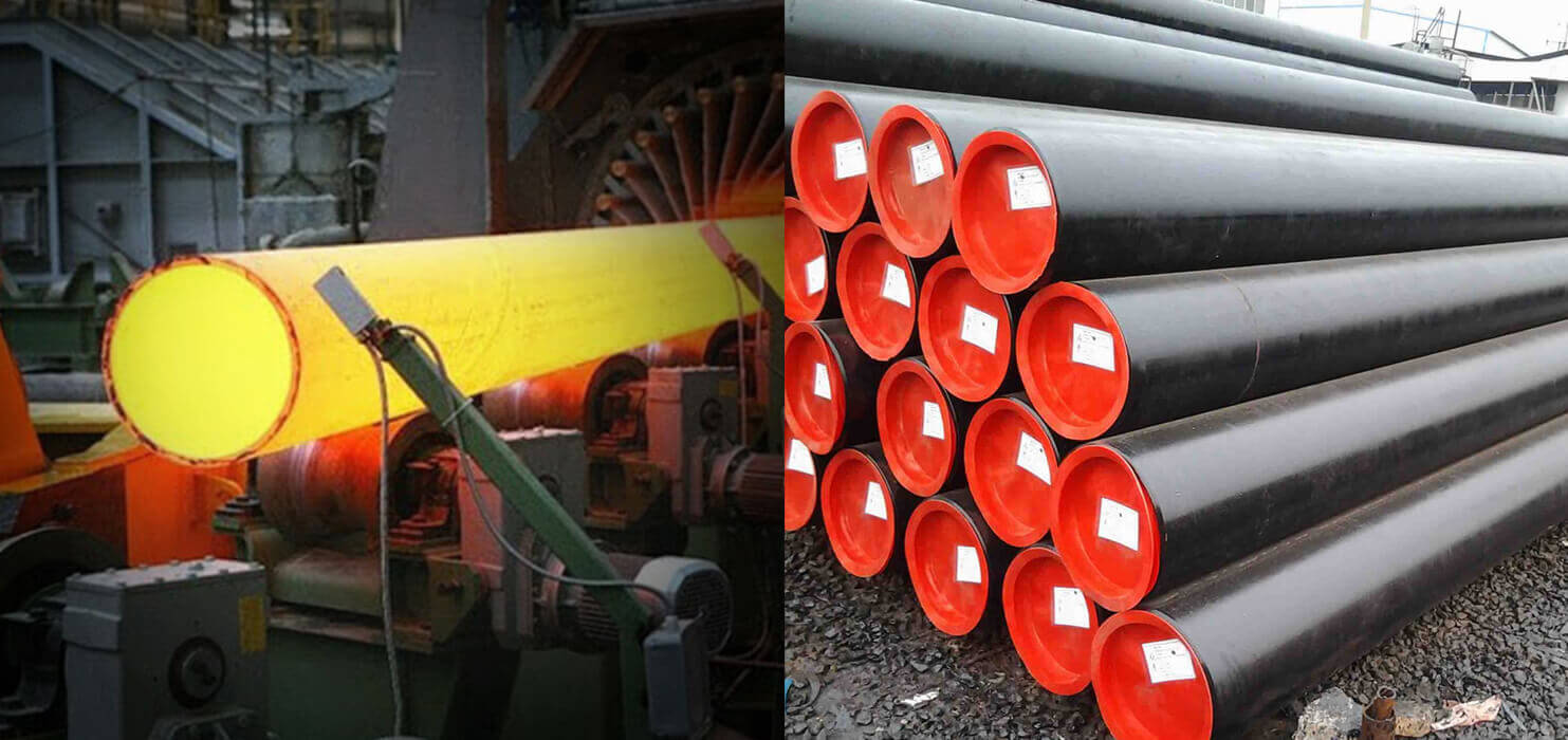 Carbon Steel Pipes ASTM A106 Carbon Steel Seamless Tubes A106
