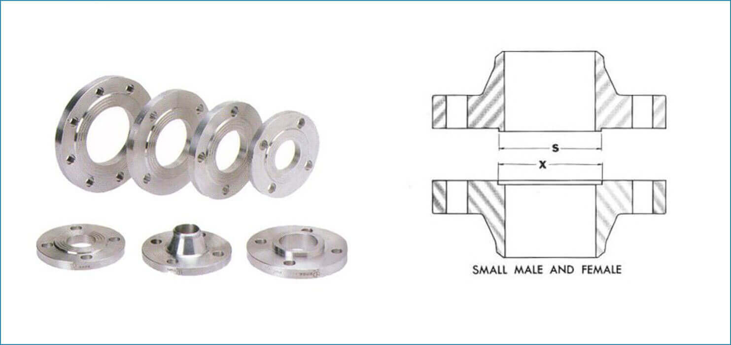 ASME B16.5 Male & Female Flanges