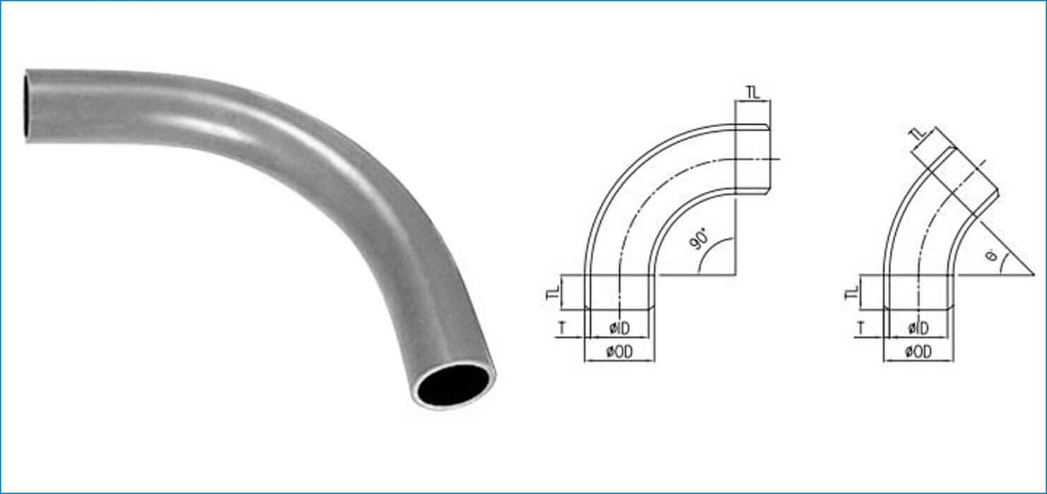 ASME B16.9 Piggable Bend