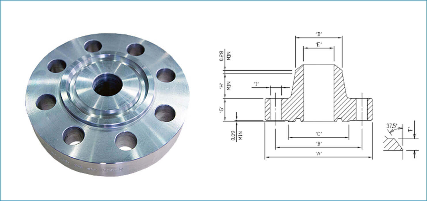 Ring Type Joint Flanges, SS Ring Type Joint Flanges, Stainless Steel