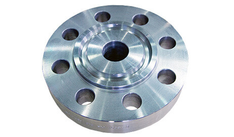 ASTM A182 Super Duplex Steel Ring Type Joint Flanges