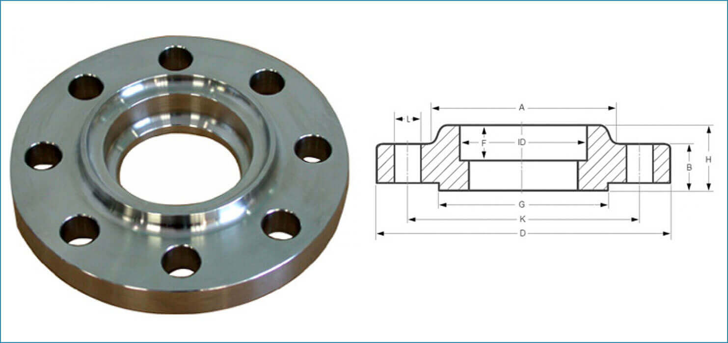 Socket weld flanges ss stainless