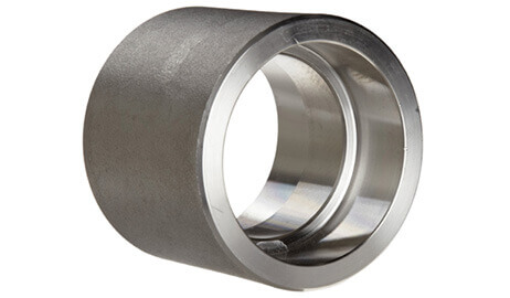 ASTM A182 SS 316Ti Forged Socket Weld Half Coupling