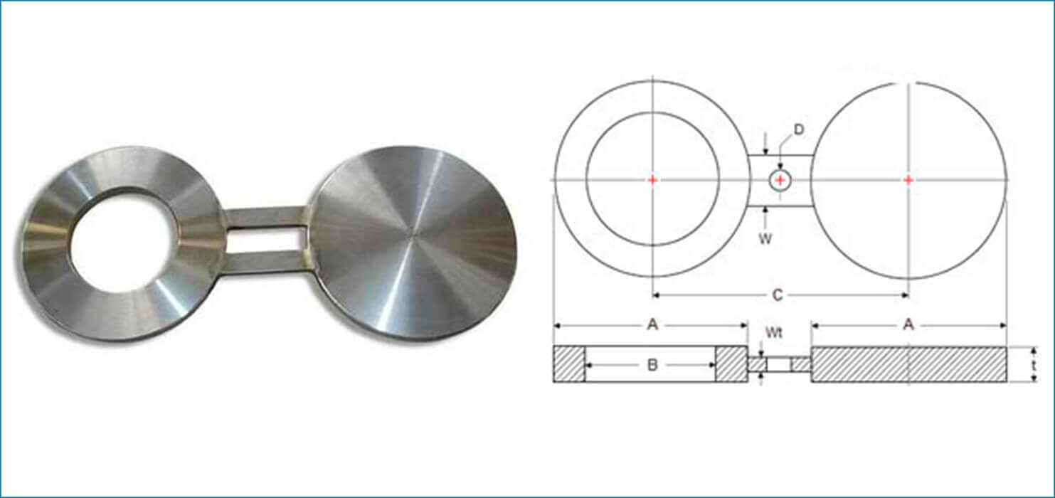 ASME B16.5 Spectacle Blind Flanges