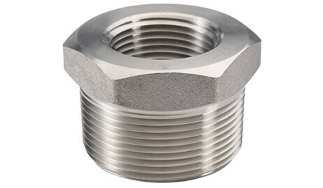 ASTM A182 SS 304L Threaded / Screwed Bushing