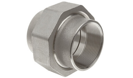 ASTM A182 SS 316Ti Threaded / Screwed Union