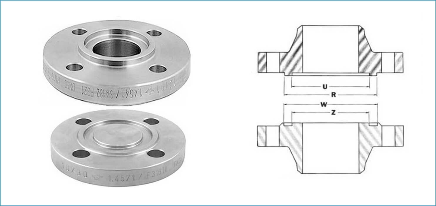 ASME B16.5 Tongue & Groove Flanges